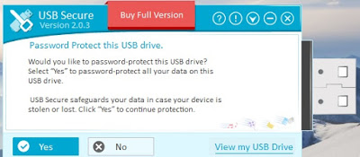 Password protect usb using usb secure