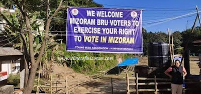 Bru refugee caste vote in Mizoram