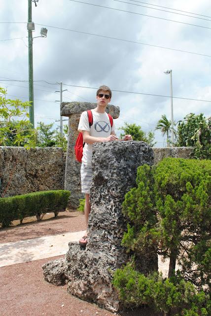 Coral Castle spreekstoel
