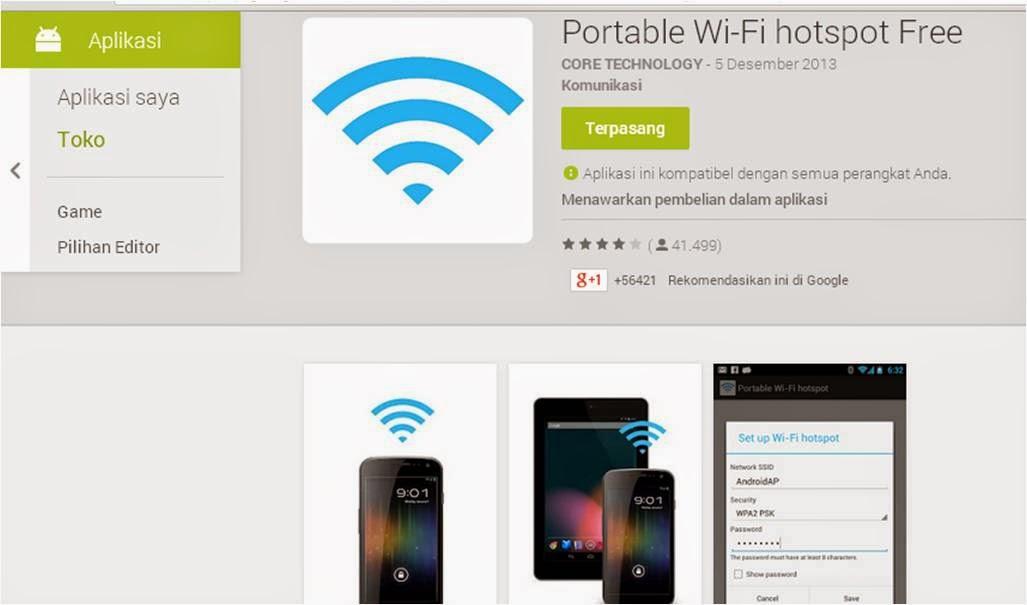 Cara Cepat Menjadikan Android Sebagai Hotspot Wifi
