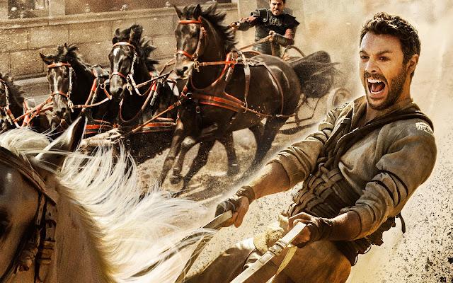 plakat filmu Ben Hur