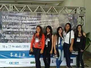 Alunos do IFPB Picuí apresentam trabalhos em Simpósio de Minerais industriais do NE