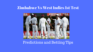 Zimbabwe vs West Indies 1st Test Predictions and Betting Tips for Today Match