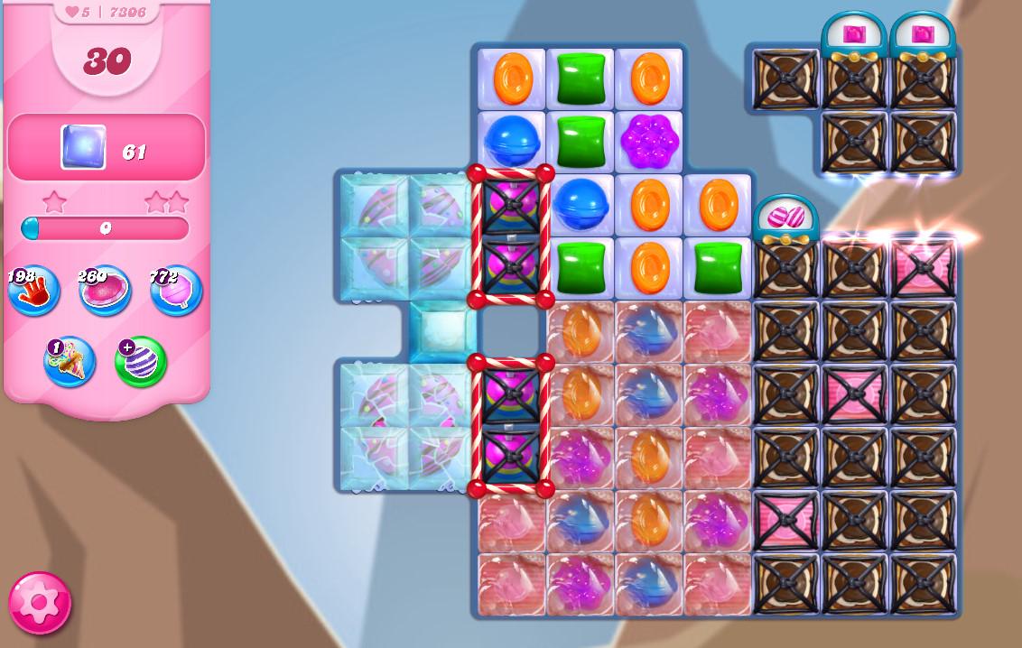 Candy Crush Saga level 7306