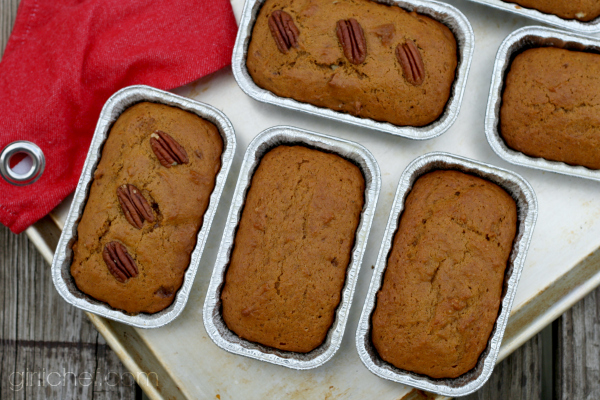 Vegan Pumpkin Bread inspired by How to Bake a Man