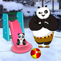 WowEscape Panda Snow World Escape