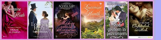 Portadas de la novela romántica histórica Desear al diablo, de Lorraine Heath
