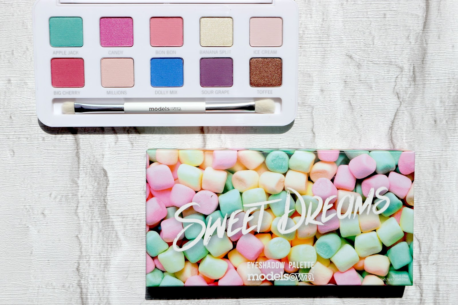 Models Own Sweet Dreams Eyeshadow Palette