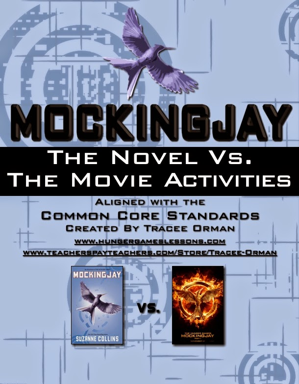Mockingjay Movie Common Core Activities