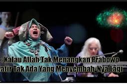 Neno : Kalau Allah Tak Menangkan Prabowo, Khawatir Tak Ada Yang Menyembah-Nya Lagi