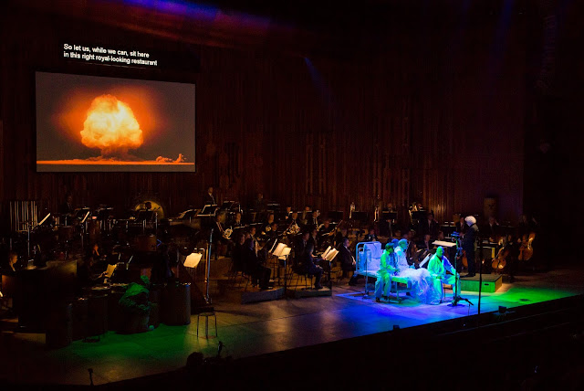 Ligeti - Le grand Macabre - Simon Rattle, London Symphony Orchestra and ensemble at the Barbican Hall - John Phillips/Getty Images