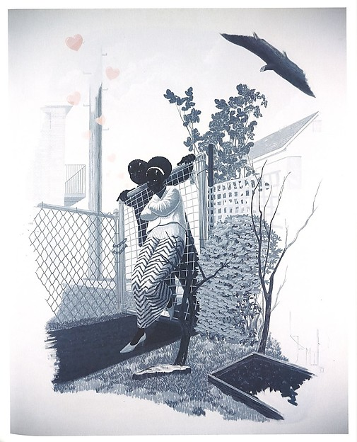 Vignette IV (2005) by Kerry James Marshall