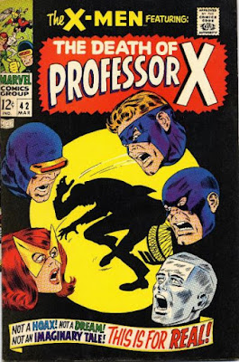 X-Men #42, the death of Professor X