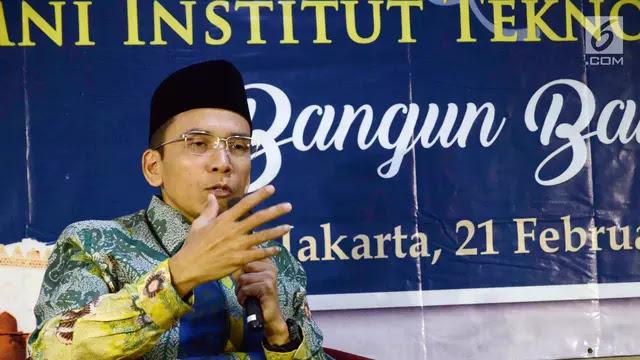 Begini Penjelasan TGB Atas Dukungannya pada Jokowi