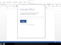 Cara Aktivasi Permanen  Microsoft Office with KMSAuto Net