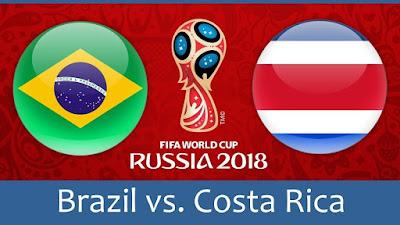 Tips Taruhan Bola Brasil vs Kosta Rika