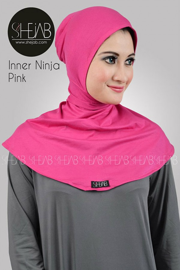 Ciput Ninja Antem Pink Shejab