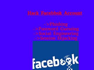 hack someones facebook account