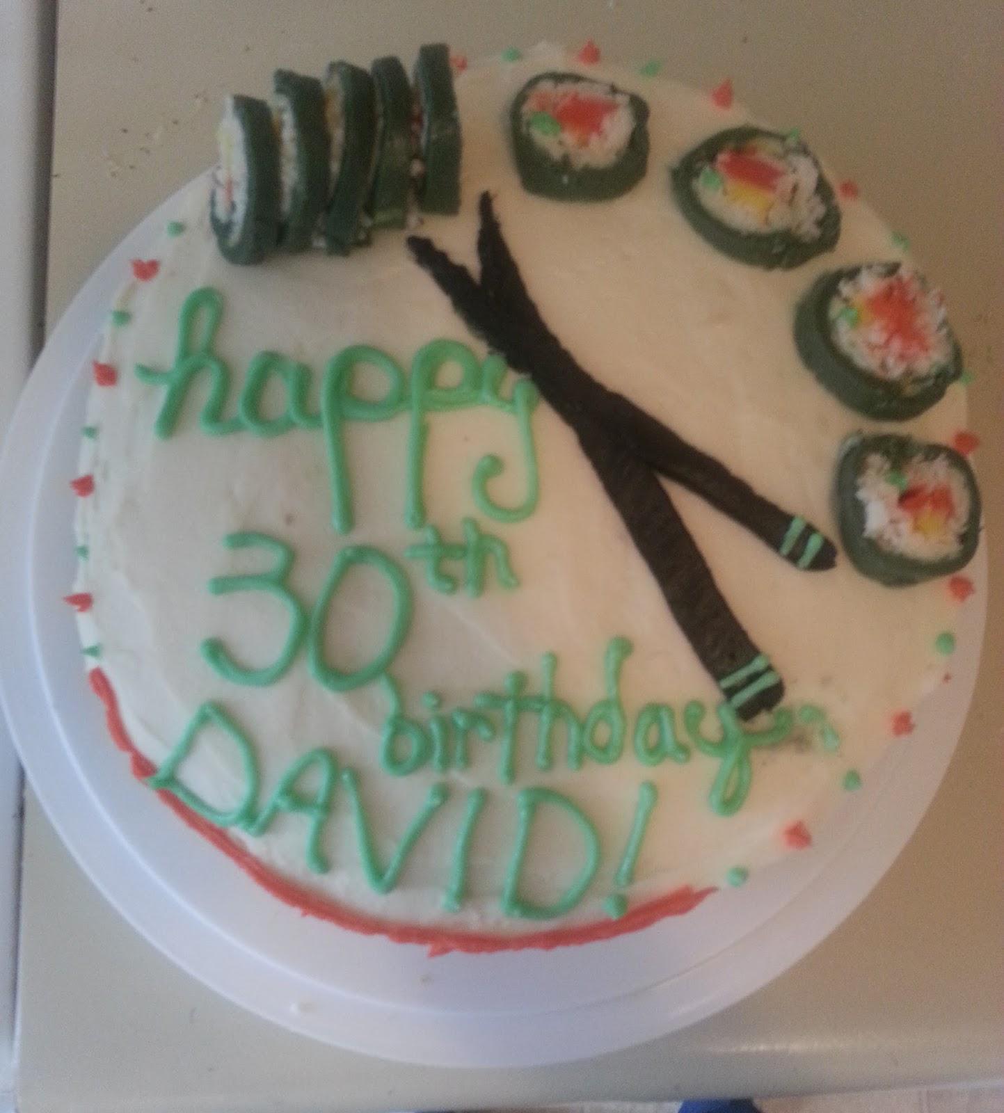 Woodelves Davids Kimbap Cake