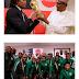MPNAIJA GIST:President Buhari Receives The Original FIFA World Cup Trophy In Abuja. Photos