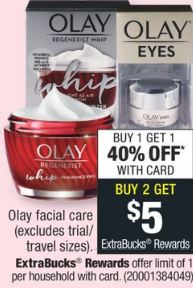 Olay facial care