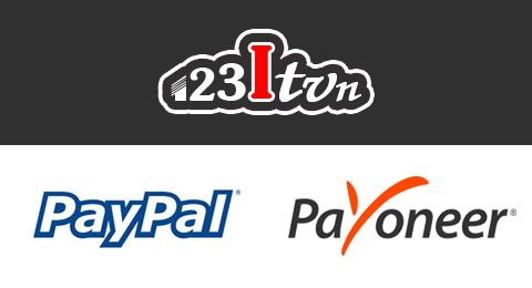 Dịch vụ hỗ trợ sử dụng tài khoàn paypal và payoneer miễn phí