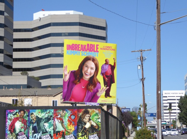 Unbreakable Kimmy Schmidt 2016 Emmy nomination billboard