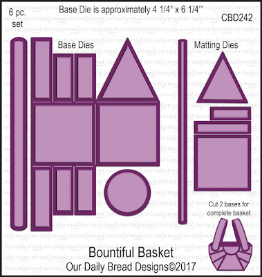 ODBD Custom Die: Bountiful Basket