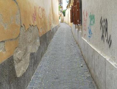 Ieșirea în strada Șelarilor