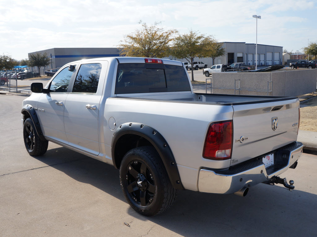 "Ford Dealership San Antonio Tx >> Sale Price $24,998 2010 Dodge Ram 4x4 1500 Silver Crew Cab Truck. Has ""20 Black Custom Wheels ..."