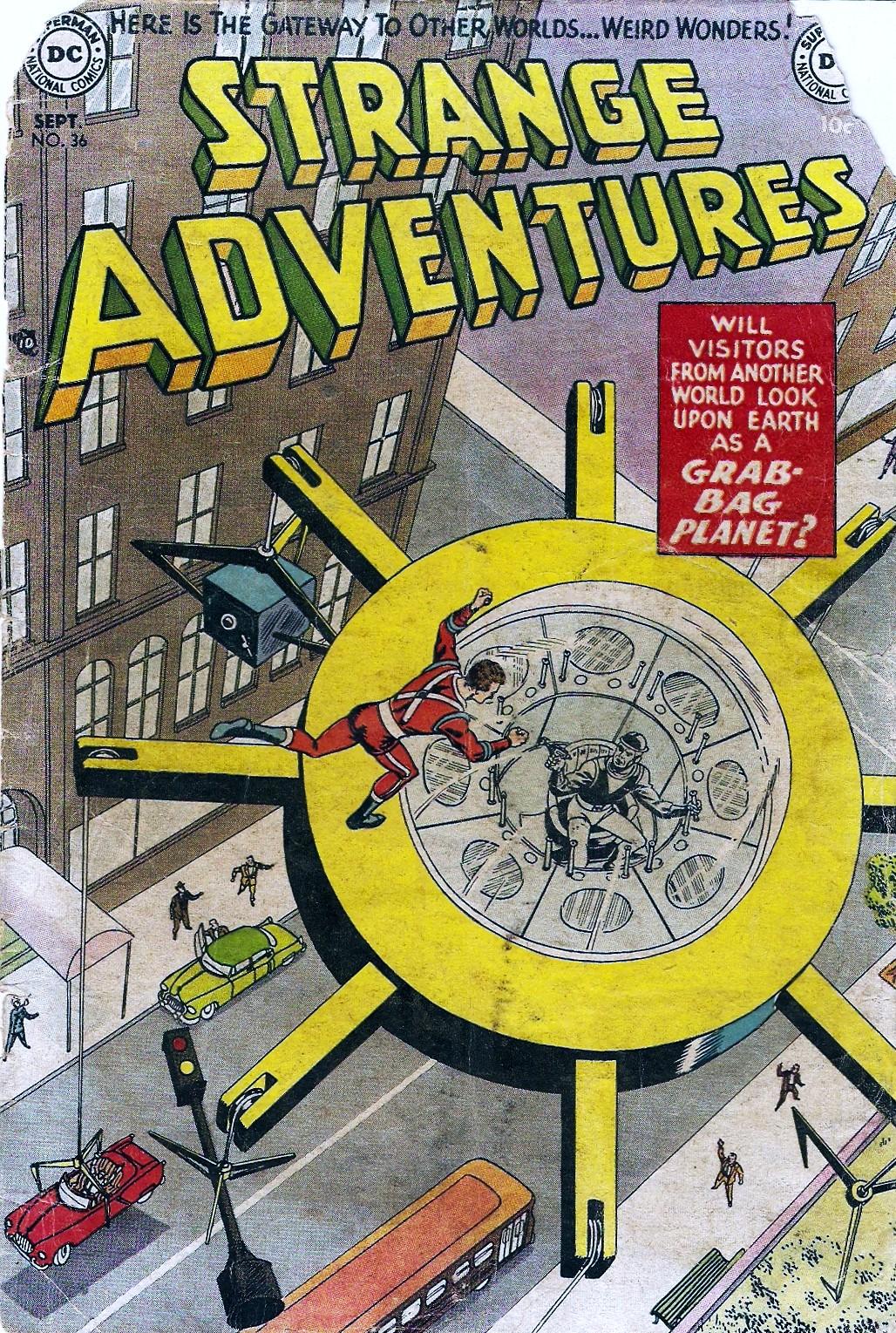 Strange Adventures (1950) issue 36 - Page 1