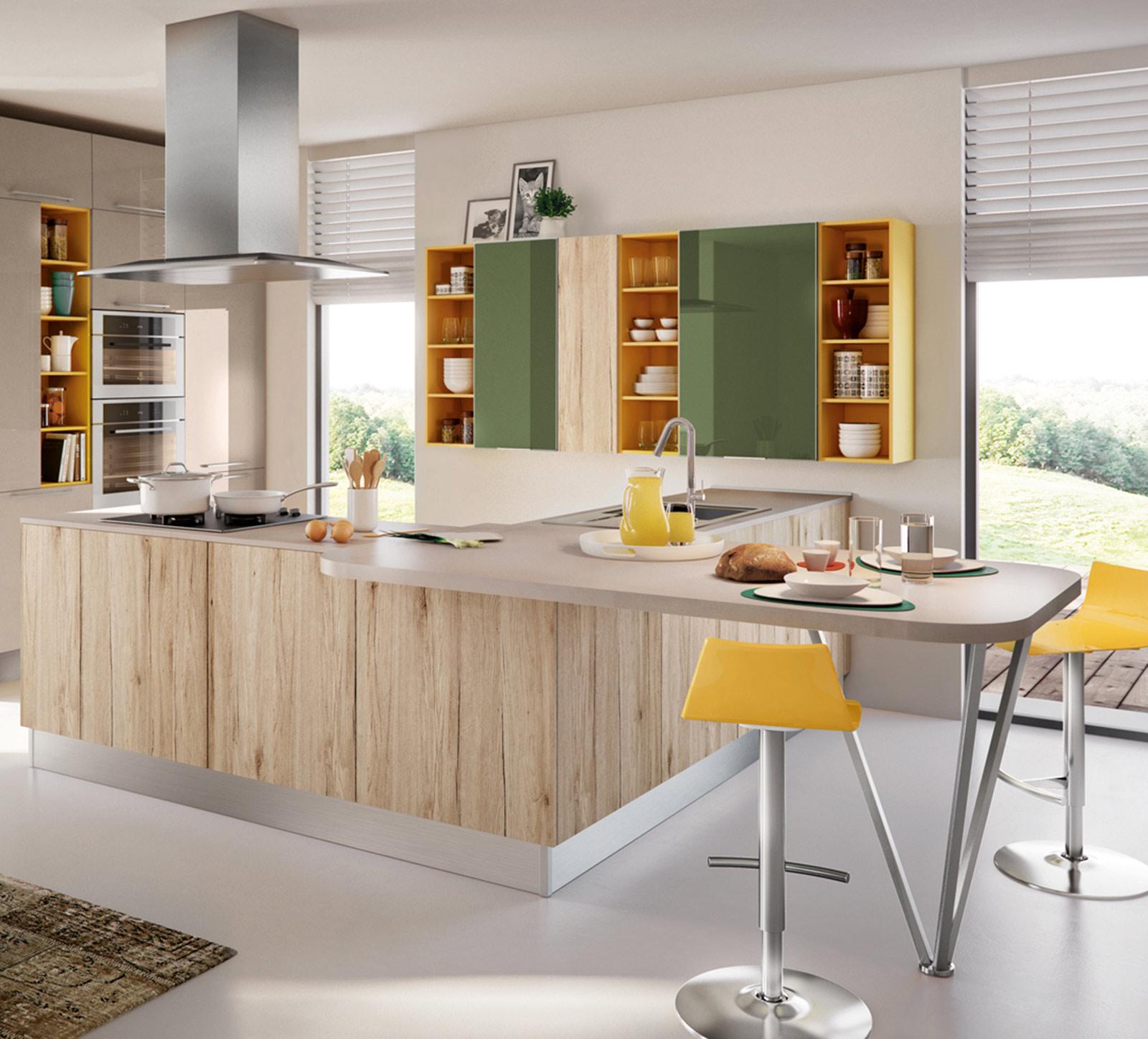 Colori Pareti Cucina Moderna