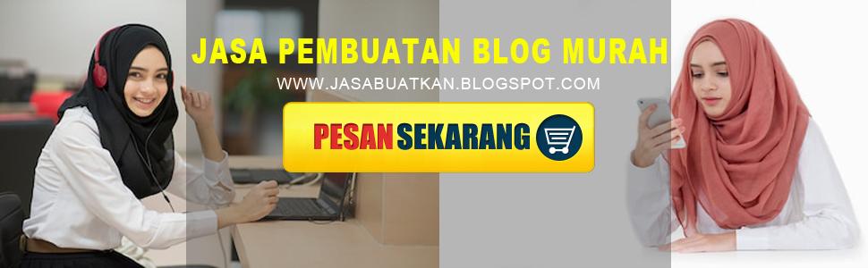 jasa buat blog murah terpercaya