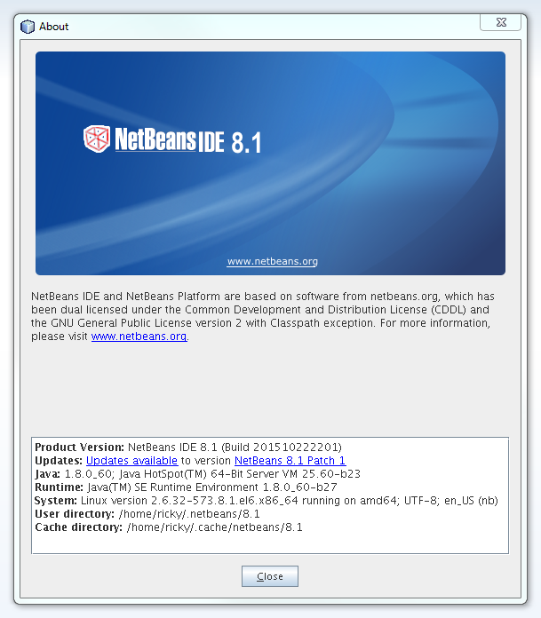 JotMyNotes: Linux CentOS 6 7 and 7 C++ Java Netbeans Python