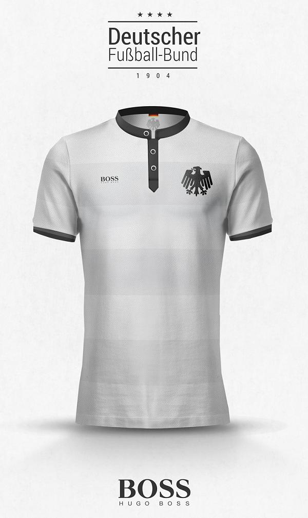 Designer cria camisas de seleções com marcas de grife - Show de Camisas 68219a6d7d524