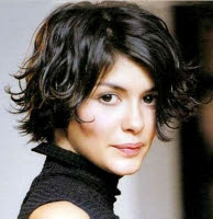 Audrey Tautou... and yes, it probably is an Amelie thing.