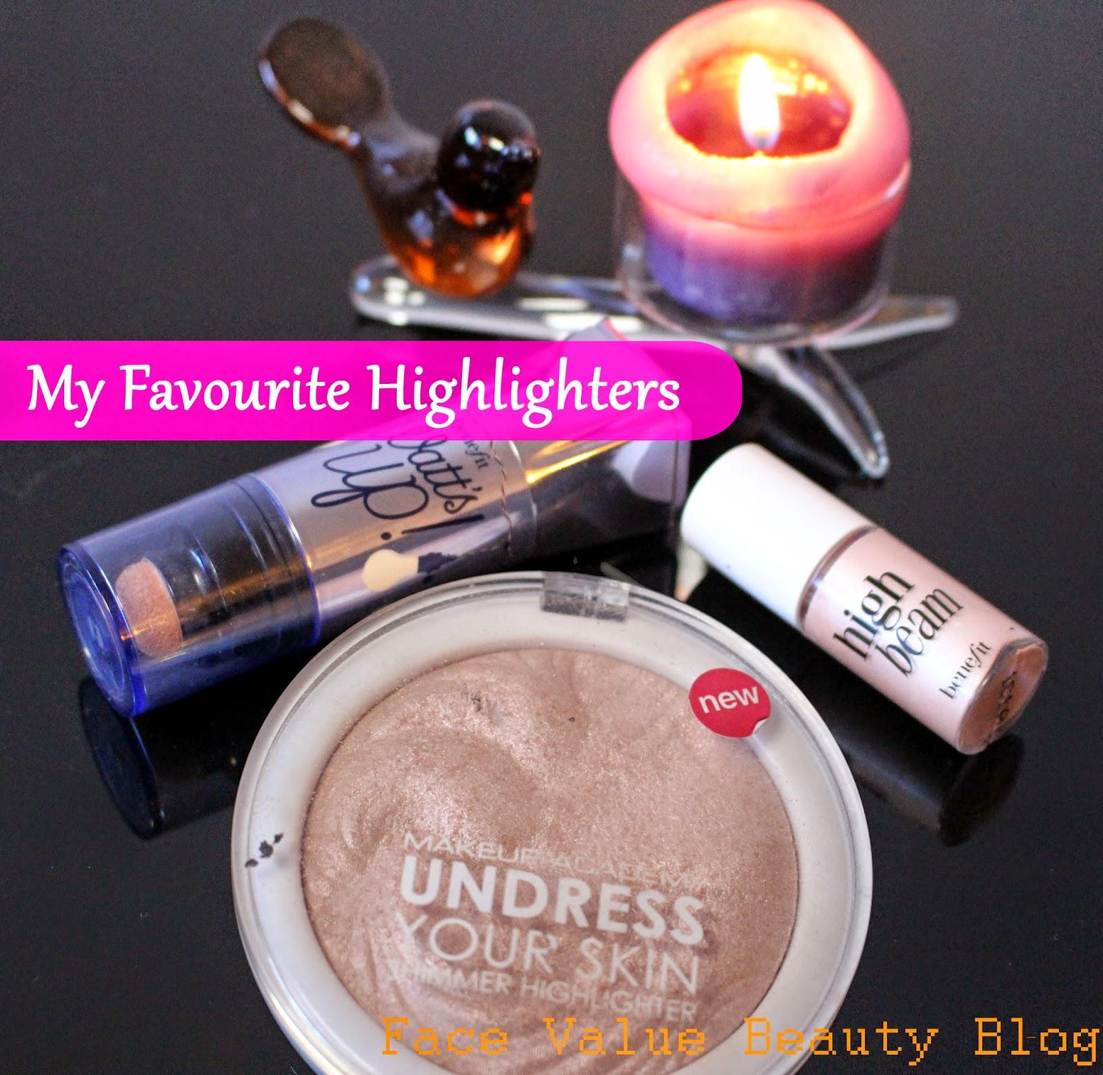 makeup highlighters benefit mua beauty cosmetics review blog