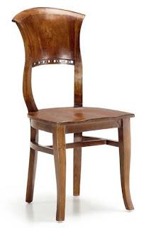 silla madera teca colonial, silla teca