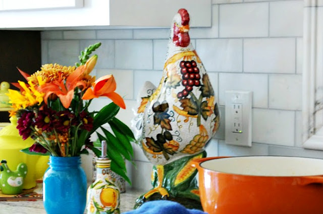 orange-cast-iron-pot-Kitchen-Country-Farmhouse