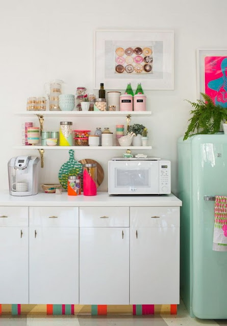 Colorful Kitchens 6