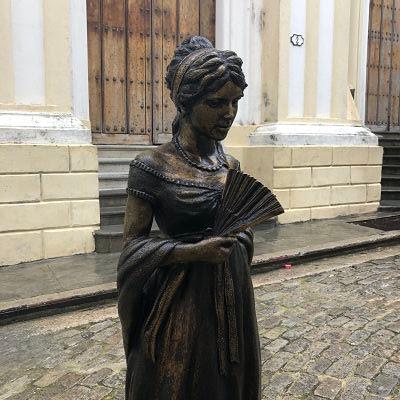 Estatua Cecilia Valdés, La Habana