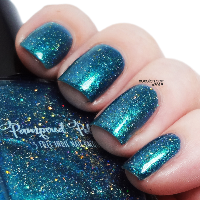 xoxoJen's swatch of Pampered Polish Heartless