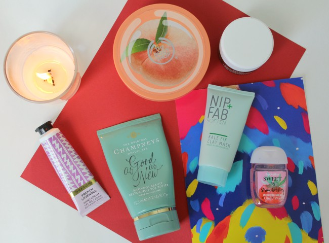 Weekly pamper routine for Winter months