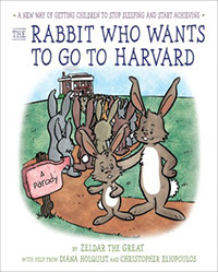 Rabbit Who Wants to go to Harvard, Book Scoop, InToriLex