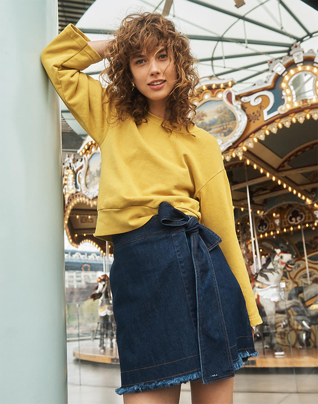 Madewell x Karen Walker skirt