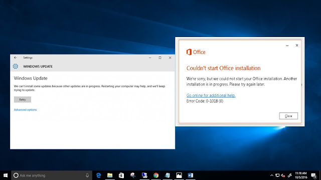 How to Fix Another Installation is in Progress Error windows 10, 8.1 and 7