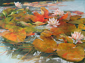 Waterlilies 28x38""