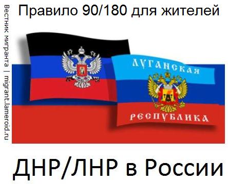 Правило «90/180» для жителей Донбасса в России: мифы и реальность