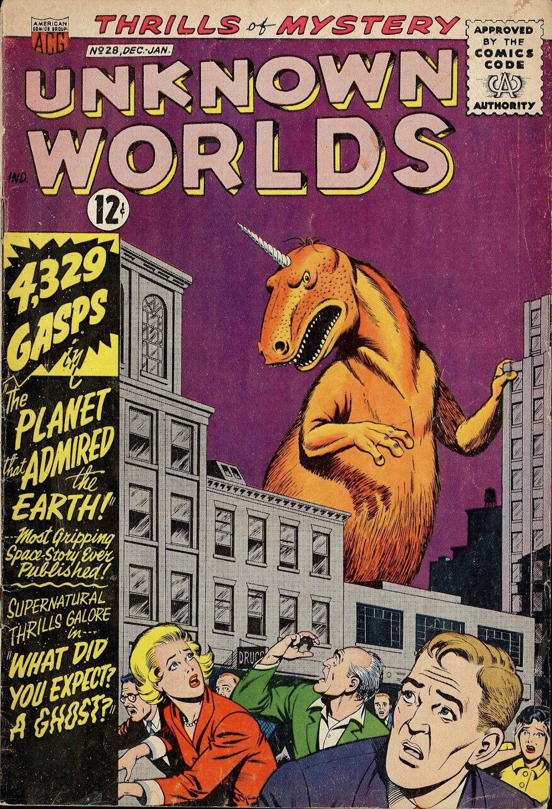 Unknown Worlds 28 Page 1