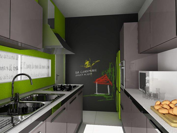 Gallery of idee per una parete lavagna lavagna per cucina